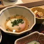 赤坂 ひかわ - 温泉卵