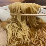 サンパチラーメン - 細麺です