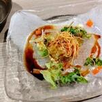 Hommagurotosousakuwashokuginjoukuraudo - 里芋のポテサラ