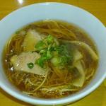 中華食堂 一楽 - ラーメン(小350円)