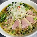 健康中華庵 青蓮 - 鴨肉醤油麺