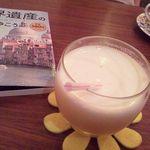 ブックカフェ エスプレッシーボ - レモンジュース(正式名称失念)