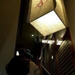 ひょうたん寿司 - 階段に並ばれていました(;^_^A