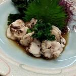 ひょうたん寿司 - 白子ポン酢 780円