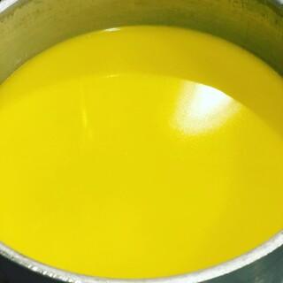 白濁した『黄金の鶏白湯スープ』