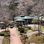 澤乃井園 清流ガーデン -  上から望む