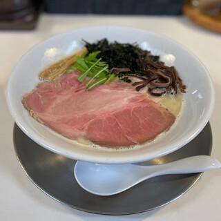 風見鶏 - 料理写真:鶏白湯「純粋」全部入り930円