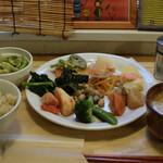 のどか - 料理写真:ベジタブルプレート 1200円(税込)