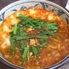 Bazoku - 料理写真:モツニラそば820円
