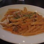 ボラチタ - ツナとキノコのトマトクリームソース ペンネ(12-09)