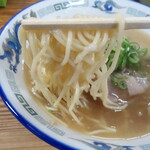 中華そば 紅蘭 - 麺