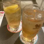 タイ料理研究所 - ハイボールと梅酒