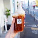 志村電機 珈琲焙煎所 - アイスアメリカーノフロート