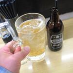酒・立ち飲み 喜多屋 - ホッピー(白)350円