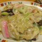 銀座 吉宗 - 皿うどんセット(1720円)の皿うどん