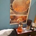 ラーメン トリコ - 海老ラー油