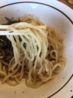 麺の樹 ぼだい - つけ麺の麺