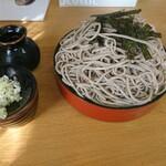 小野田そば屋 - 料理写真:ざる天大盛