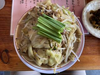 大鶴ちゃんぽん - 博多ちゃんぽん 900円の麺大 +100円(2021年3月)