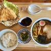 鈴木食堂 - 料理写真:「らーめん定食アジフライ」@860(税込)