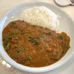カレーハウス チリチリ - 料理写真:「ミックスマサラ」1300円