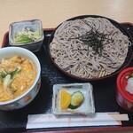 まるしん - ざる定食 680円
