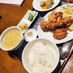 紅蘭亭 - 清炸鶏定食