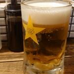 147967142 - 黒ラベル(生ビール)490円