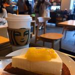 スターバックス・コーヒー - オレンジ&レアチーズケーキ、ドリップコーヒー