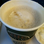 タリーズコーヒー - 甘ーいミルクラテにはちみつたっぷりです