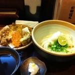 讃岐饂飩 元喜 - 舞天生醤油 800円