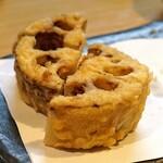 石臼挽き手打 蕎楽亭 - 蓮根の天ぷら