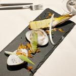 resutoranrafonte-nu - 蛤と筍、山菜のフリット
