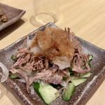 三代目文治 - 牛たんすじポン酢