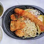 洋食 ツバキ亭 - ミックススライランチ 1,250円 ※テイクアウト仕様(洋食 ツバキ亭)