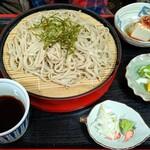 割烹みや川 - ざる蕎麦670円