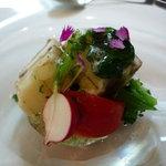 CANOVIANO ANNEX - ☆太刀魚と新ジャガイモ 幻のトマトのサラダ(*^。^*)☆