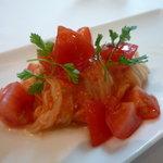カノビアーノ アネックス - ☆幻のトマトを冷製カッペリーニで(≧▽≦)~♡☆