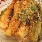 てんぷら 山の上 Roppongi - 春の特別天丼