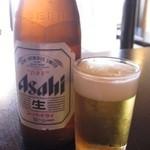 海食 浜勝 - 昼のビールは幸せ、仕事をやりきっての爽快感!
