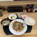 福吉ラーメン - 料理写真:レバニラ定食