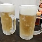 らーめん粋家 - 生ビール