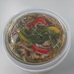 中華料理 華山 - 豚肉あんかけ丼(500円)