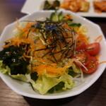 焼肉元太 - 元太サラダ(580円)
