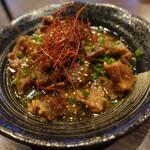 焼肉元太 - 牛筋煮