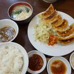 えのけん - 餃子定食