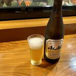 148008342 - 寿司店って何故か瓶ビールのイメージが…(^^;
