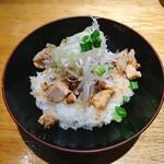 焼きあご塩らー麺 たかはし - 和風チャーシュー丼
