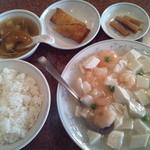 14801147 - 芝海老と豆腐の煮込みランチ