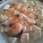 14801155 - ランチの芝海老と豆腐の煮込み